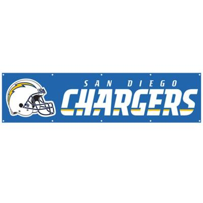 Party Animal 8 ft. x 2 ft. NFL License Chargers Team Banner