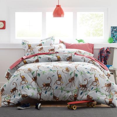 Monkey Business Cotton Percale Comforter