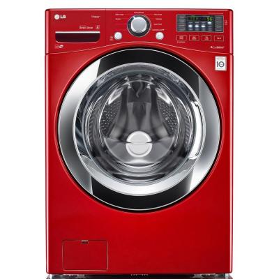4.3 cu. ft. High Efficiency Front Load Washer in Wild Cherry