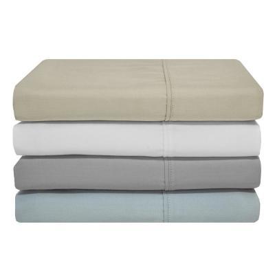 Lexington Solid 400-Thread Count Cotton Sheet Set