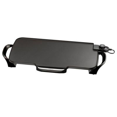 Electric Non-Stick Griddle with Removable Handles Cooking Surface is 22 in.