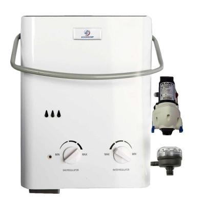 L5 1.2 GPM Liquid Propane Tankless Water Heater with Flojet Pump and Strainer Product Photo