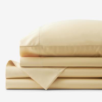 Legends Hotel Wrinkle-Free Supima Cotton Sateen Deep Pocket Sheet Set