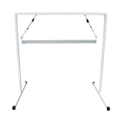 T5 4 ft. Steel White Powder Coated Light Stand with V41