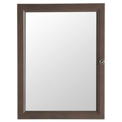 Delridge 22 in. x 29.5 in. Surface-Mount Mirrored Medicine Cabinet in
