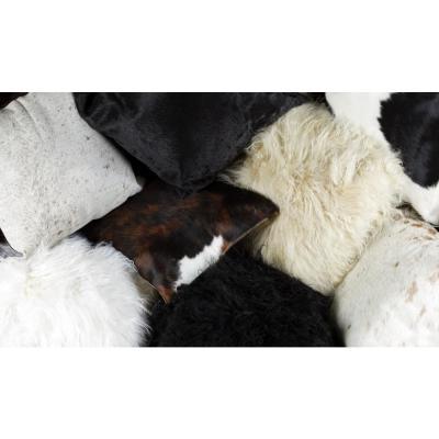 New Zealand Sheepskin 18 in. x 18 in. Throw Pillow (Set of 2)