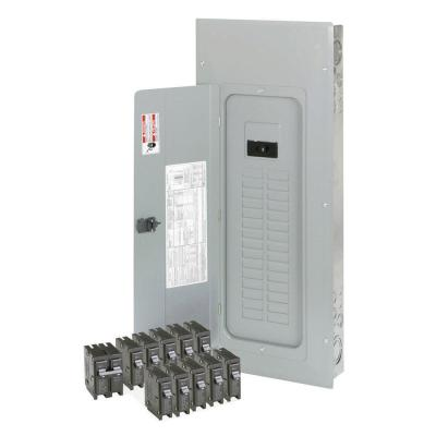 Eaton 200-Amp 30-Spaces 40-Circuits BR Main Lug Loadcenter Value Pack (Includes 11 Breakers)