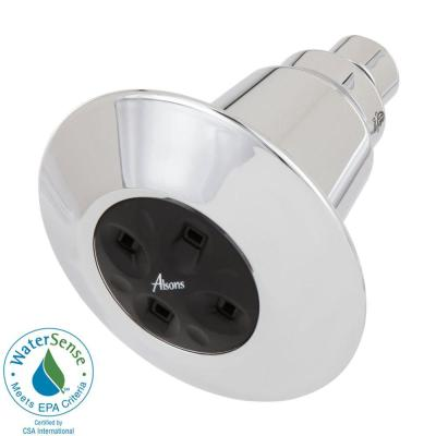 Delta Amplifying 1-Spray 1.5 GPM Shower Head in Chrome-DISCONTINUED