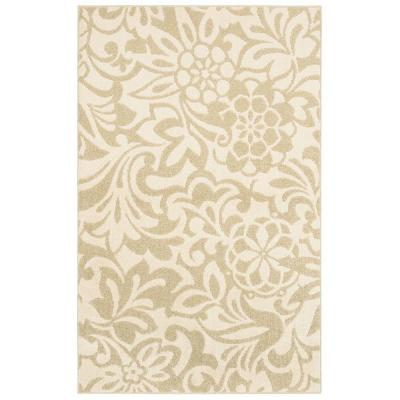 Mohawk Home Simpatico Biscuit Starch 5 ft. x 7 ft. Area Rug