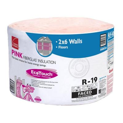 Owens Corning R 19 Kraft Faced Insulation Continuous Roll