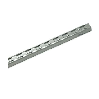 ClosetMaid ShelfTrack 84 in. Nickel Standard Bracket