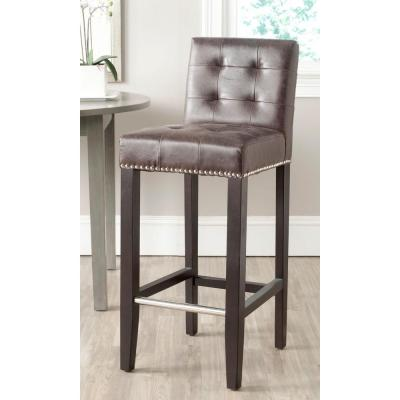 Thompson 30 in. Bar Stool in Antique Brown