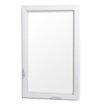 Vinyl Casement Window with Screen - Right Hand