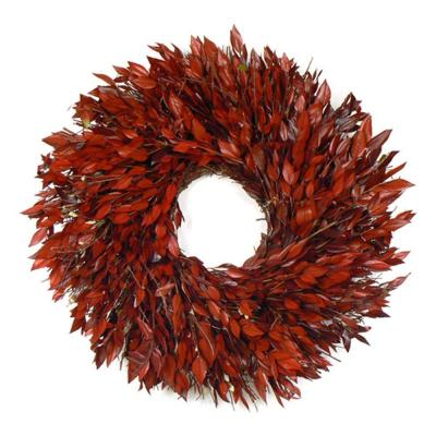 The Christmas Tree Company Taste of Myrtle 18 in. Dried Floral Wreath-DISCONTINUED