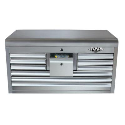 Viper 33 in. 10-Drawer Chest with 304 Stainless Steel