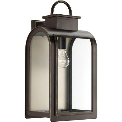 Refuge Collection 1-Light Oil Rubbed Bronze Wall Lantern