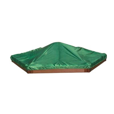 Frame It All 7 ft. x 8 ft. x 5.5 in. Hexagonal Sandbox Cover