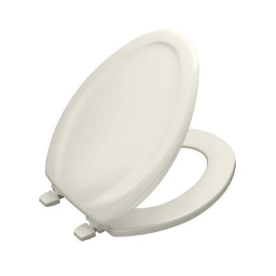 Kohler Stonewood Elongated Closed Front Toilet Seat In