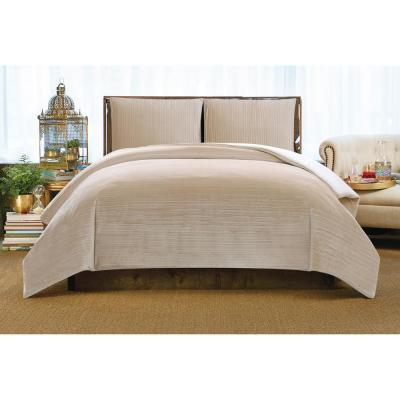Crinkle Velvet Comforter Set