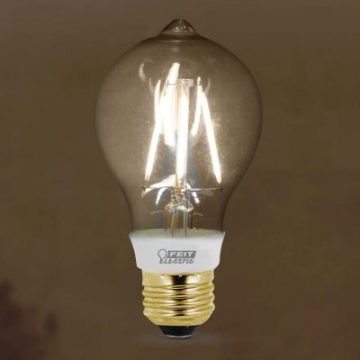 Vintage Style 60W Equivalent Soft White (2200K) AT19 Dimmable LED Light
