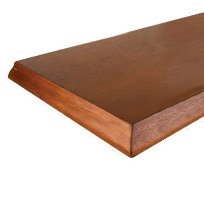 8 in. x 36 in. Honey Classic Edge Decorative Shelf Product Photo