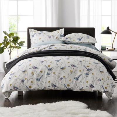 Day Song Flannel Duvet Cover