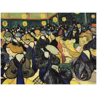 18 in. x 24 in. The Dance Hall at Arles 1888