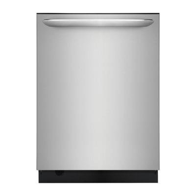 Frigidaire Gallery Top Control Built-In Tall Tub Dishwasher in Smudge-Proof Stainless Steel with Stainless Steel Tub and OrbitClean