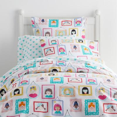 Picture Perfect 200-Thread Count Cotton Percale Duvet Cover