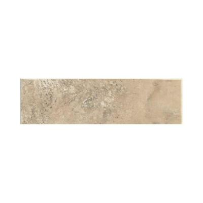 Stratford Place Willow Branch 3 in. x 10 in. Ceramic Bullnose