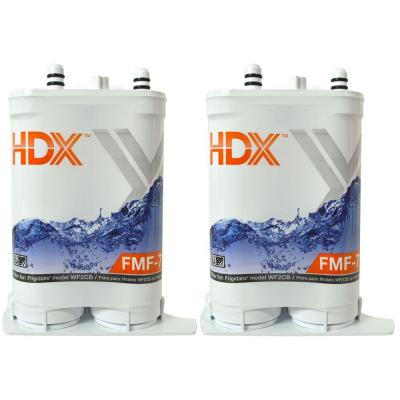HDX FMF-7 Refrigerator Replacement Filter Fits Frigidaire Pure Source 2 (Value Pack)