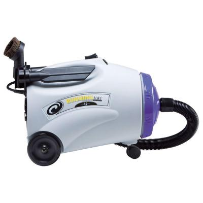 RunningVac Canister Vacuum with 14 in. Multi-Surface Floor Tool and Telescoping