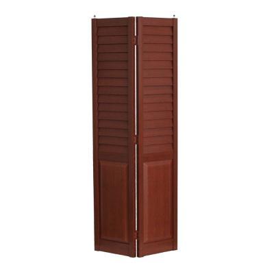 3 in Louver/Panel Composite Bifold Door