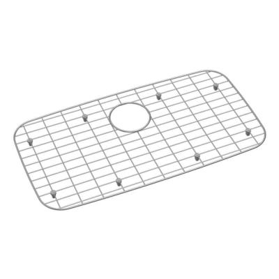 Elkay Stainless Steel Bottom Grid Fits 28x15.75x1 in. Bowl Size Kitchen Sinks