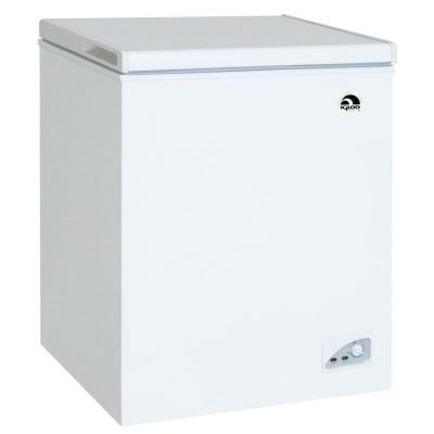 Igloo 7 2 Cu Ft Chest Freezer In White Frf472 The Home