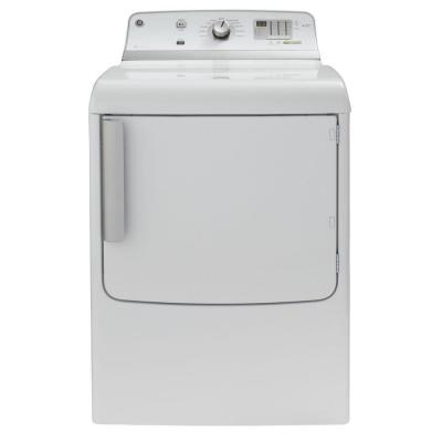 GE 7.8 cu. ft. Gas Dryer in White
