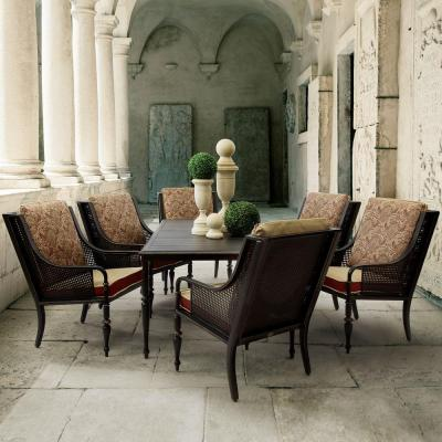 Sherborne 7-Piece Patio Dining Set with Venice Cushions
