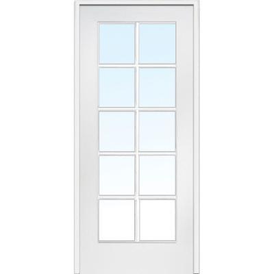 Classic Clear Glass 10 Lite Composite Interior