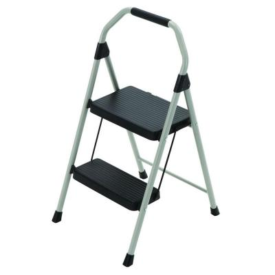 Gorilla Ladders 2 Step Compact Steel Step Stool Ladder