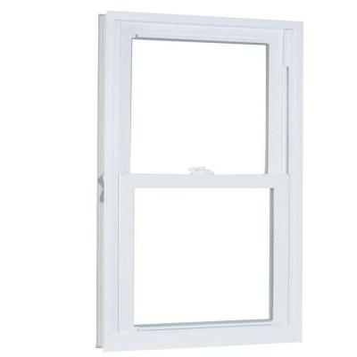 33.75 in. x 53.25 in. 70 Series Double Hung Buck PRO Vinyl Window - White Product Photo