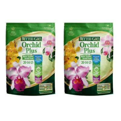 Better-Gro Orchid Plus 1 lb. Orchid Plant Food (2-Pack)