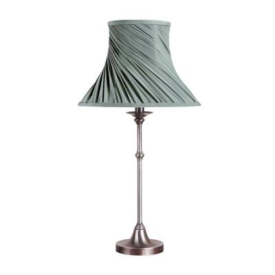 Laura Ashley Morgan 19 in. Antique Pewter Table Lamp
