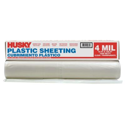 Home depot plastic sheeting