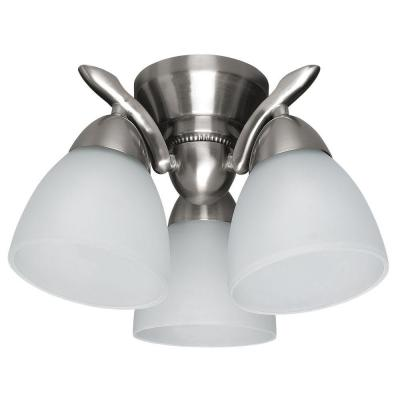 Hunter 3-Light Brushed Nickel Contemporary Down Light-DISCONTINUED