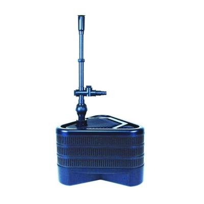 All-in-One Triple 1022 GPH Pond Filter with UV