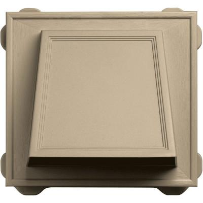 6 in. Hooded Siding Vent #013-Light Almond Product Photo