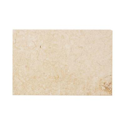 Jeffrey Court Creama 8 in. x 12 in. Honed Marble Floor/Wall Tile (4 sq. ft. / case)