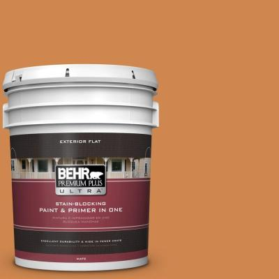 5-gal. #PPU3-3 Flaming Torch Flat Exterior Paint