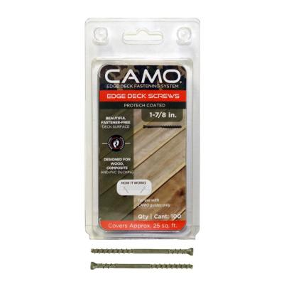 CAMO 1-7/8 in. ProTech Coated Trimhead Deck Screw (100-Count)