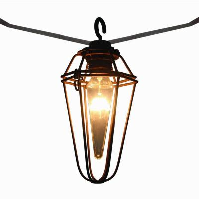 Mercury String Lights Lowes : Retro Mercury 8-Light Outdoor Patio Cafe String Light-KF01742-L8 - The Home Depot